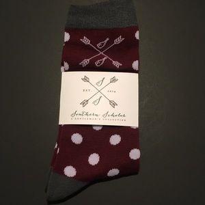 Other - NWT Southern Scholar dress socks